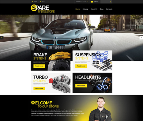 30 Of The Best Premium Responsive eCommerce Themes for 2016 - Web Design Ledger | Public Relations & Social Media Insight | Scoop.it