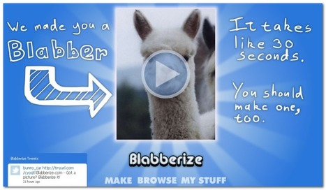 Blabberize.com - Make pictures talk, then share them   九州・沖縄LET2012年6月大会Keynote Links   Scoop.it