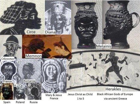 Black African Gods of Europe via ancient Greece | 21st Century Racism | Scoop.it
