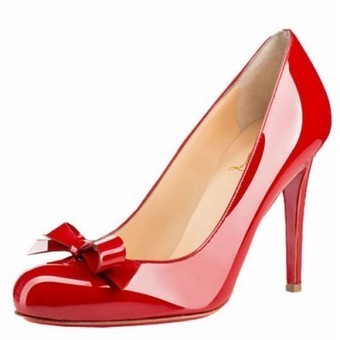 Sale red bottom heels-christian louboutin Simplenodo 100mm pumps red patent leather | Sale Red Bottom Heels | Scoop.it
