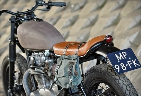 YAMAHA XS650 SCRAMBLER | LEFT HAND CYCLES - Grease n Gasoline | Hot news | Scoop.it