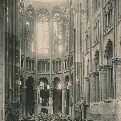 Unseen World War I photos: Destroyed Cathedrals - Boing Boing | Donna's  IB History | Scoop.it