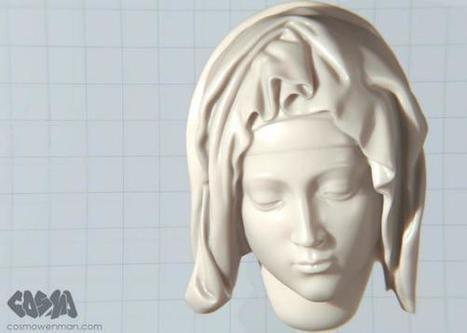 Good News: Replicas of 16th-Century Sculptures Are Not Off-Limits for 3-D Printers | Open Culture | Scoop.it