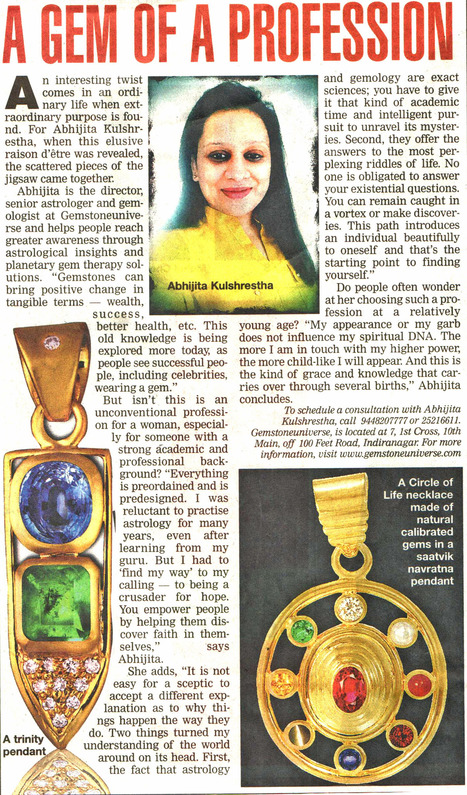 A Gem of a Profession | Gem therapy using Jyotish Gemstones | Scoop.it
