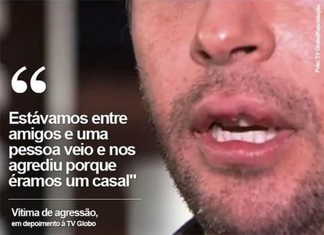 Casal gay é agredido em bar no Itaim, e diz ter sido vítima de homofobia - Geledés | EVS NOTÍCIAS... | Scoop.it