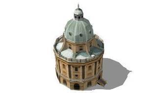 Radcliffe Camera (Oxford) by MisterFoley - 3D Warehouse | 3D Model | Scoop.it