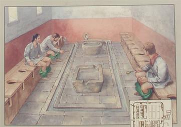 letrinas el wc de los antiguos romanos arque