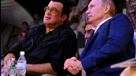 """Steven Seagal: Putin possibly the """"greatest world leader alive today""""   Saif al Islam   Scoop.it"""