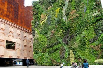 10 Beautiful Urban Vertical Gardens - Opposing Views | Vegetation and Gis | Scoop.it