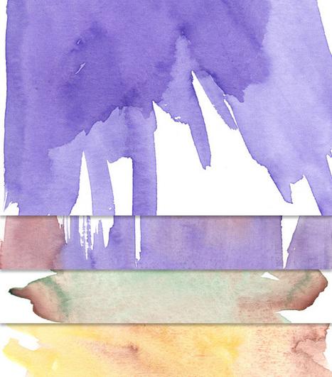 Free Watercolor Textures | freebies | Scoop.it