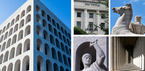 Italian fascist architecture - Built to impress like the EUR in Rome   Italia Mia   Scoop.it
