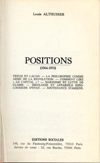 Louis Althusser, Idéologie et appareils idéologiques d'État (Notes pour une recherche). | asds | Scoop.it