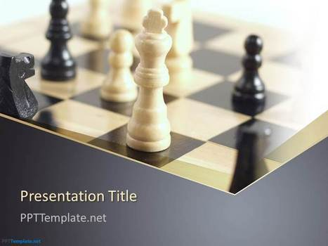 Free Chess PPT Template | Business PPT Templates | Scoop.it