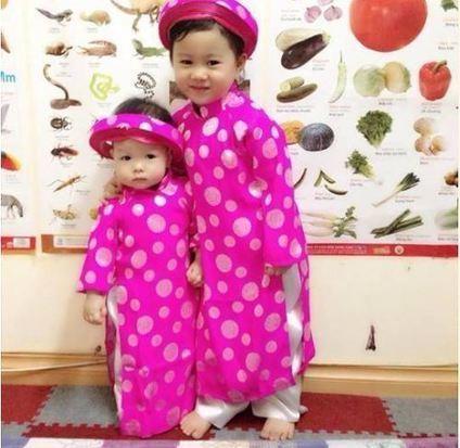 Tưng mừng chào đón tết với áo dài trẻ em cực đẹp | ban buon quan ao tre em xuat khau | Scoop.it