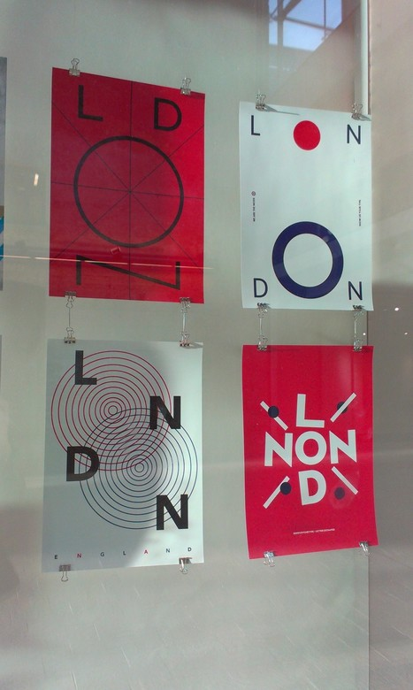 London Types: Graphic Design At CSM's New Granary Building   Designing   Scoop.it