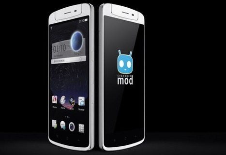 OPPO N1 official.. CyanogenMod, rotating camera, backside touchpad aboard | Mobile Technology | Scoop.it
