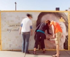 Interactive Billboard For Hydrating Cream Has Viewers 'Peel Off' Dead Skin [Video] - PSFK | Burt's Bees | Scoop.it