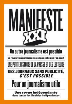 Manifeste XXI, pourquoi ignores-tu le journalisme narratif numérique? | DocPresseESJ | Scoop.it