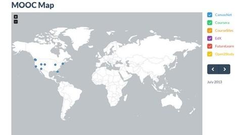 MOOC Map :Datavisualization | P O C: Présentation Originale des Connaissances | Scoop.it