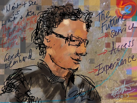"""Technology Could Bring Heaven on Earth, or Create Hell"" - interview with futurist Gerd Leonhard 