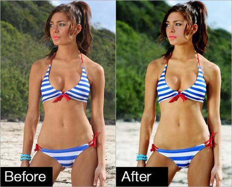 Professional Photo Retouching Bikini Model   FOTOGRAFIA Y VIDEO HDSLR PHOTOGRAPHY & VIDEO   Scoop.it
