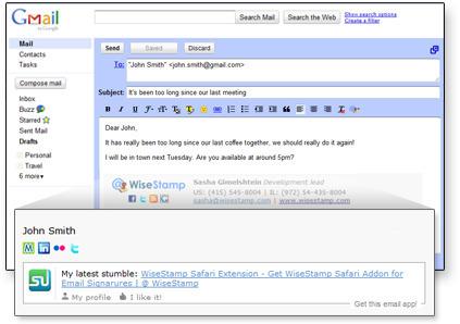 » WiseStamp Email Signatures – Bring Life to your Email | Las herramientas del Community Manager | Scoop.it
