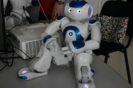 """""""Oui, on peut rire avec un robot !""""   Vous avez dit Innovation ?   Scoop.it"""