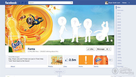 20 Amazingly Branded Company Facebook Timeline Pages | Creative Guerrilla Marketing | Be Social On Media For Best Marketing ! | Scoop.it