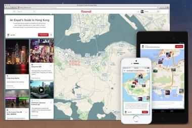Pinterest déploie la géolocalisation dans les tableaux et intègre les pins à une carte interactive   Les actu du E-tourisme   Scoop.it