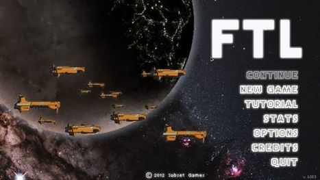 Games You May Have Missed – FTL: Faster Than Light   Games   Scoop.it