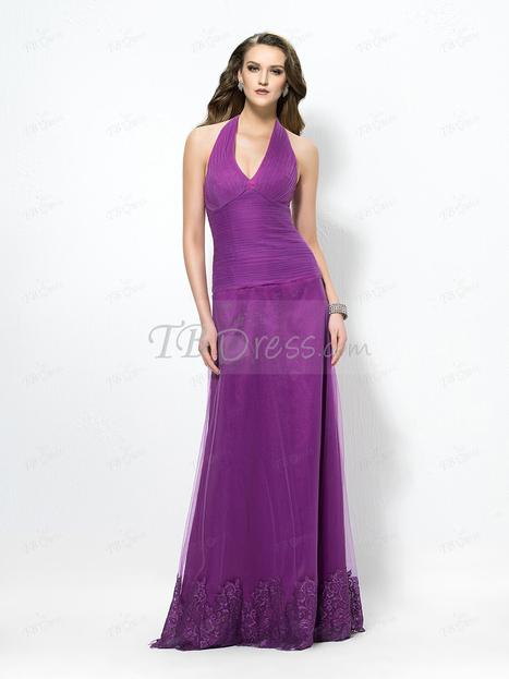 $ 119.99 Delicate Concise V-Neck Trumpet/Mermaid Zipper-Up Evening Dress Designed Independently   one-piece dress   Scoop.it