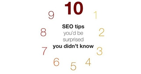 10 SEO Tips You'd Be Surprised You Didn't Know by @texasgirlerin | MarketingHits | Scoop.it