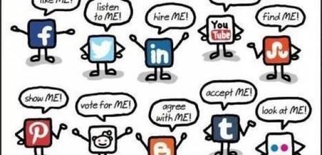 7 raisons pour lesquelles vous devez impérativement être présent sur les réseaux sociaux | Blog de Markentive, agence d'inbound marketing à Paris | Community management - tools | Scoop.it