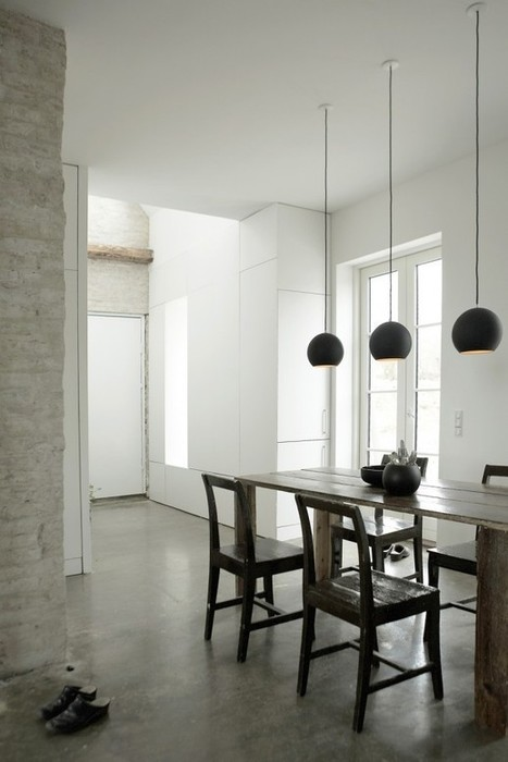 Art studio and home – 2 in 1 for a Danish artist | Residential Interior Services | Scoop.it