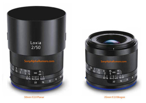 First Pictures of Zeiss' Rumored 'Loxia' Lenses Leaked, Will Arrive Early Next ... - PetaPixel   sony a7 a7r   Scoop.it