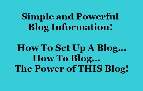 Empower Network - Simple And Powerful Blog Information .. How To Set Up A Blog | Business Tips & Tricks | Scoop.it