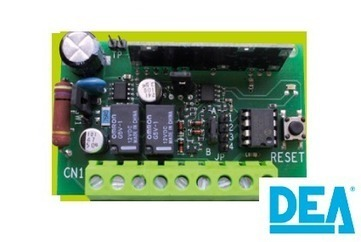 DEA 262 receptor de un canal enchufable compatible con Sfera.   automatismos   Scoop.it
