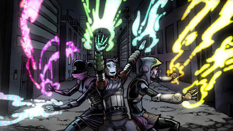 "Coldplay Tastefully Rocks Comic Book Fans' Faces Off With ""Mylo Xyloto"" 