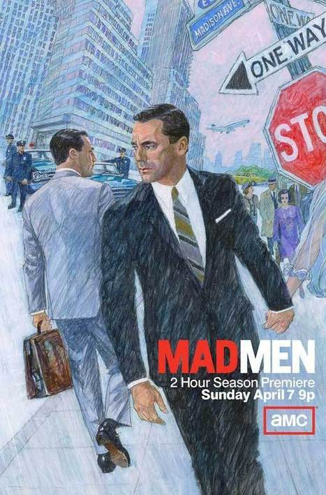 Decoding the Mad MenSeason 6 Poster - Draper vs Draper | Gabby's Gab | Scoop.it