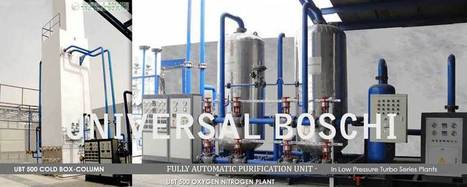 Air Separation Unit with Cryogenic Technology from India | Air Separation Plants | Scoop.it