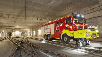 Des véhicules de pompiers adaptés aussi au rail pour la liaison Diabolo | BELGIQUE | Veille informationnelle CNDF | Scoop.it