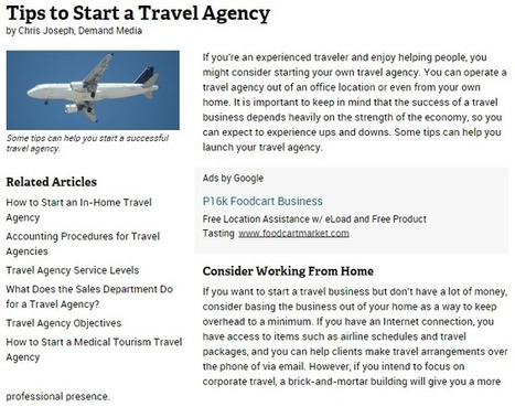 Step Up from Doing Travel Agent Jobs to Having Your Own Travel Agency | AARC Host Agency | Scoop.it