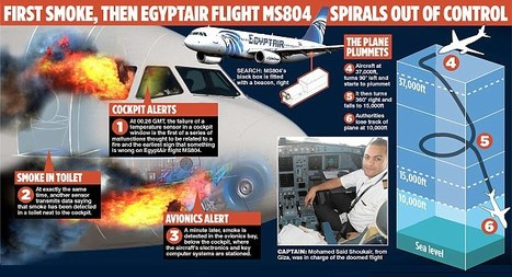EgyptAir crash: Flight data points to 'internal explosion' on plane once daubed with graffiti saying 'We will bring this plane down' | The Pulp Ark Gazette | Scoop.it