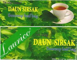 Teh Celup Daun Sirsak Laurico | Cari Uang Lewat Ekiosku.com | Scoop.it
