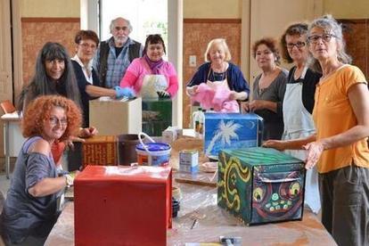 Sur le sentier des boîtes aux lettres décorées - 31/08/2014, Buxeuil (36) - La Nouvelle République | Vatan Tourisme | Scoop.it