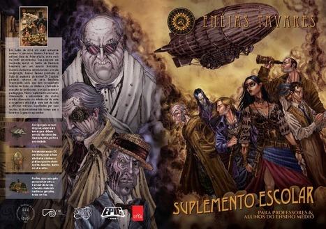 Entrevista | Literatura, RPG e muito mais de Brasiliana Steampunk - Experimento 42 | Ficção científica literária | Scoop.it
