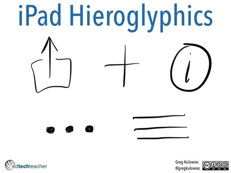 The History 2.0 Classroom: iPad Hieroglyphics | iPad & Literacy | Scoop.it
