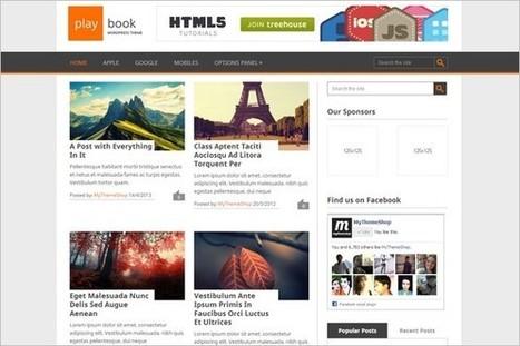 Playbook Free WordPress Theme by MyThemeShop - WP Daily Themes | Free & Premium WordPress Themes | Scoop.it