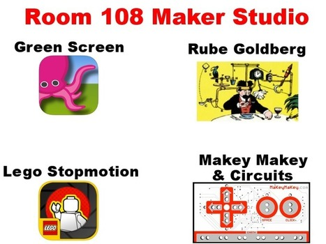 Maker Studio - Mrs. Fryer's Classroom | I'm Bringing Techy Back | Scoop.it