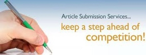 sharifunaz : I will create 10 Article Submission on Good Site With Approved for $5 on www.fiverr.com | Business | Scoop.it